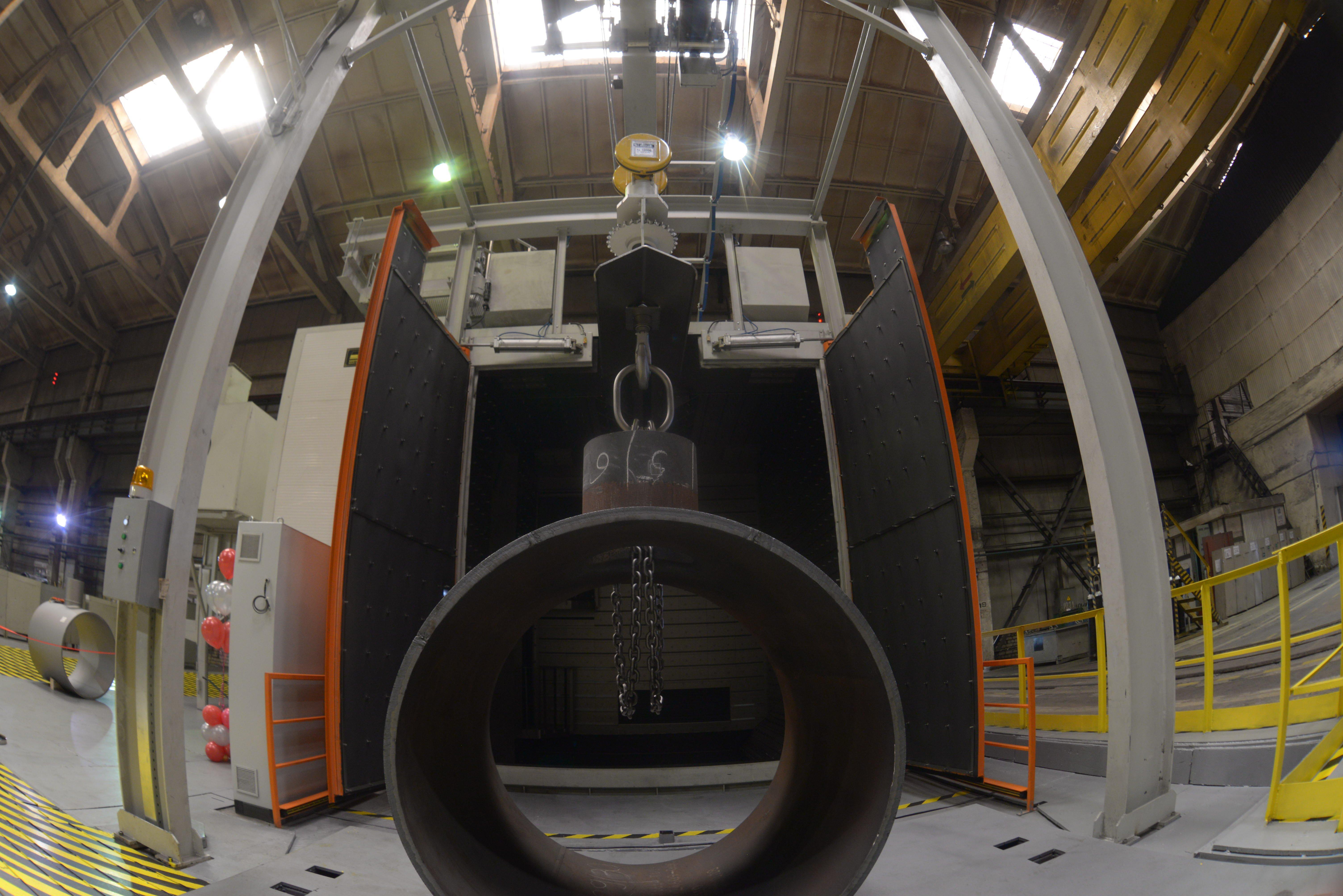 Завод «Трубодеталь» ввел в эксплуатацию новый дробеметный комплекс