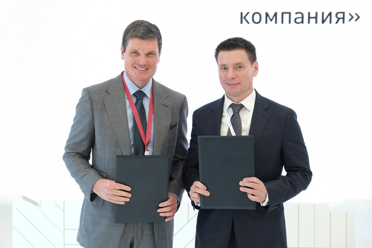 ОМК и Российский экспортный центр подписали соглашение о сотрудничестве