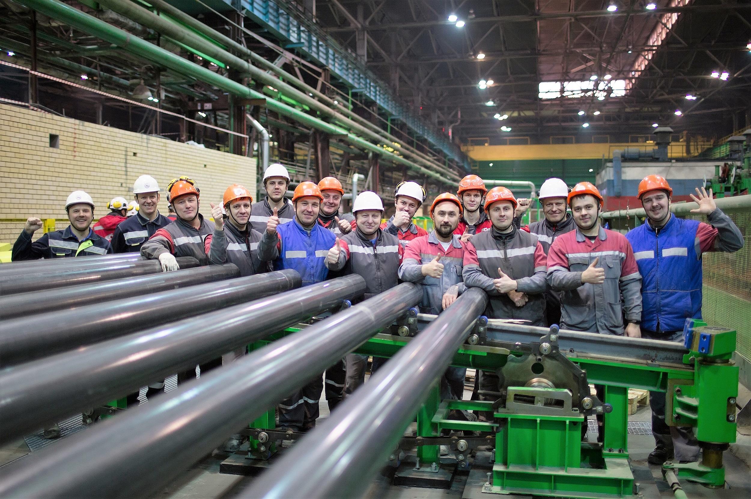 ОМК успешно изготовила трубы в рамках горячих испытаний нового стана