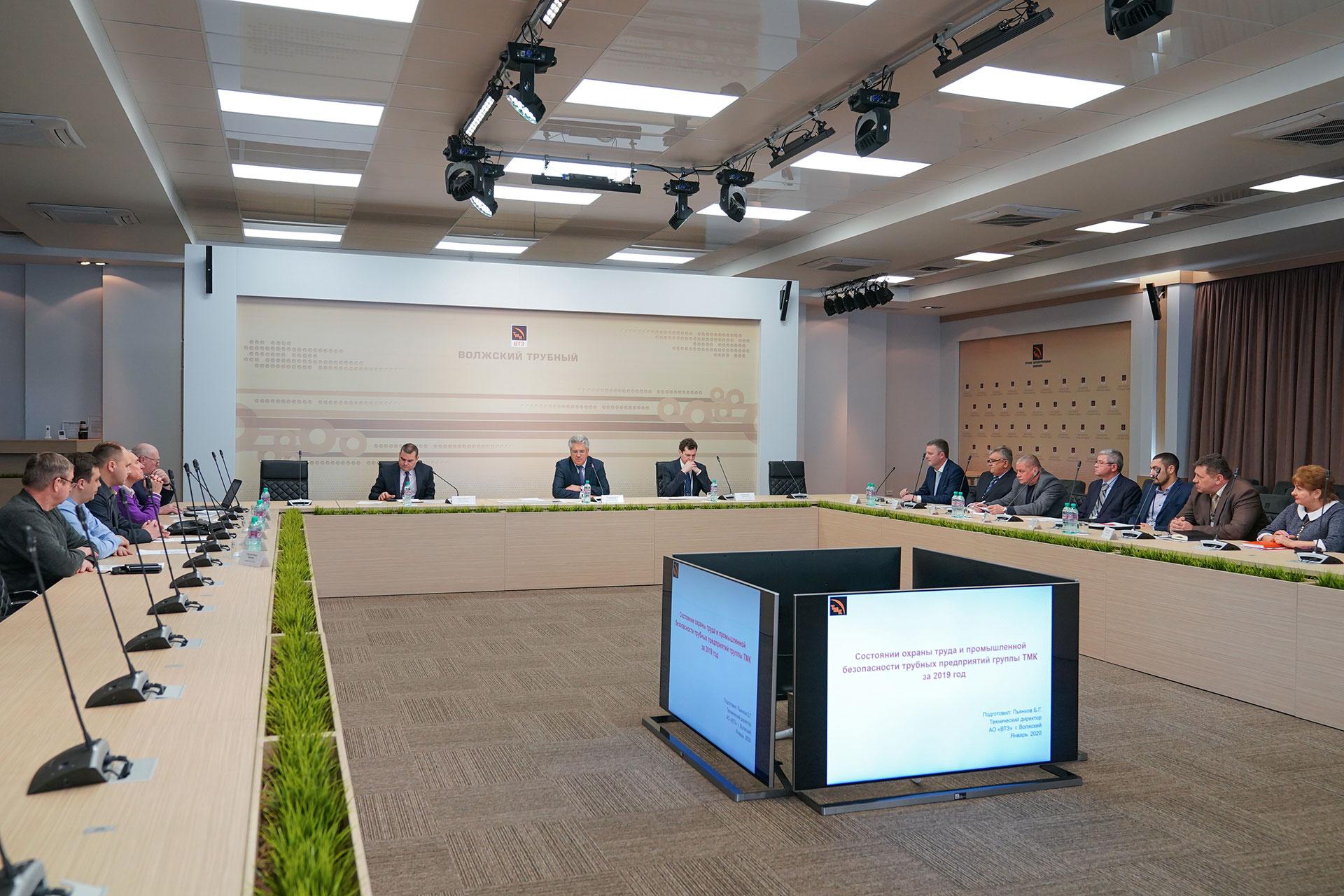 На ВТЗ российские металлурги обменялись передовым опытом в области промбезопасности и охраны труда