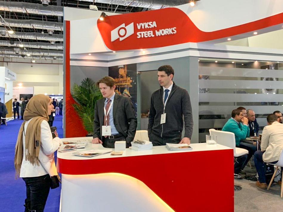 ОМК представила свою продукцию на международной нефтегазовой выставке в Египте