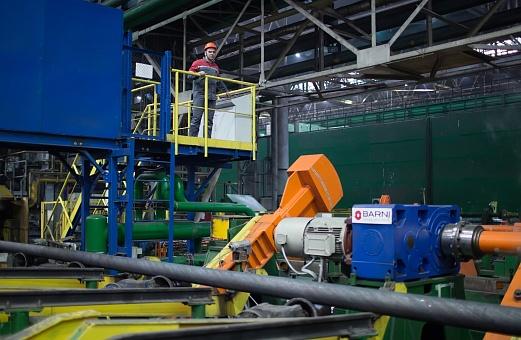 ОМК модернизирует линию термоупрочнения заготовки для изготовления муфт, нефтегазопроводных и обсадных труб