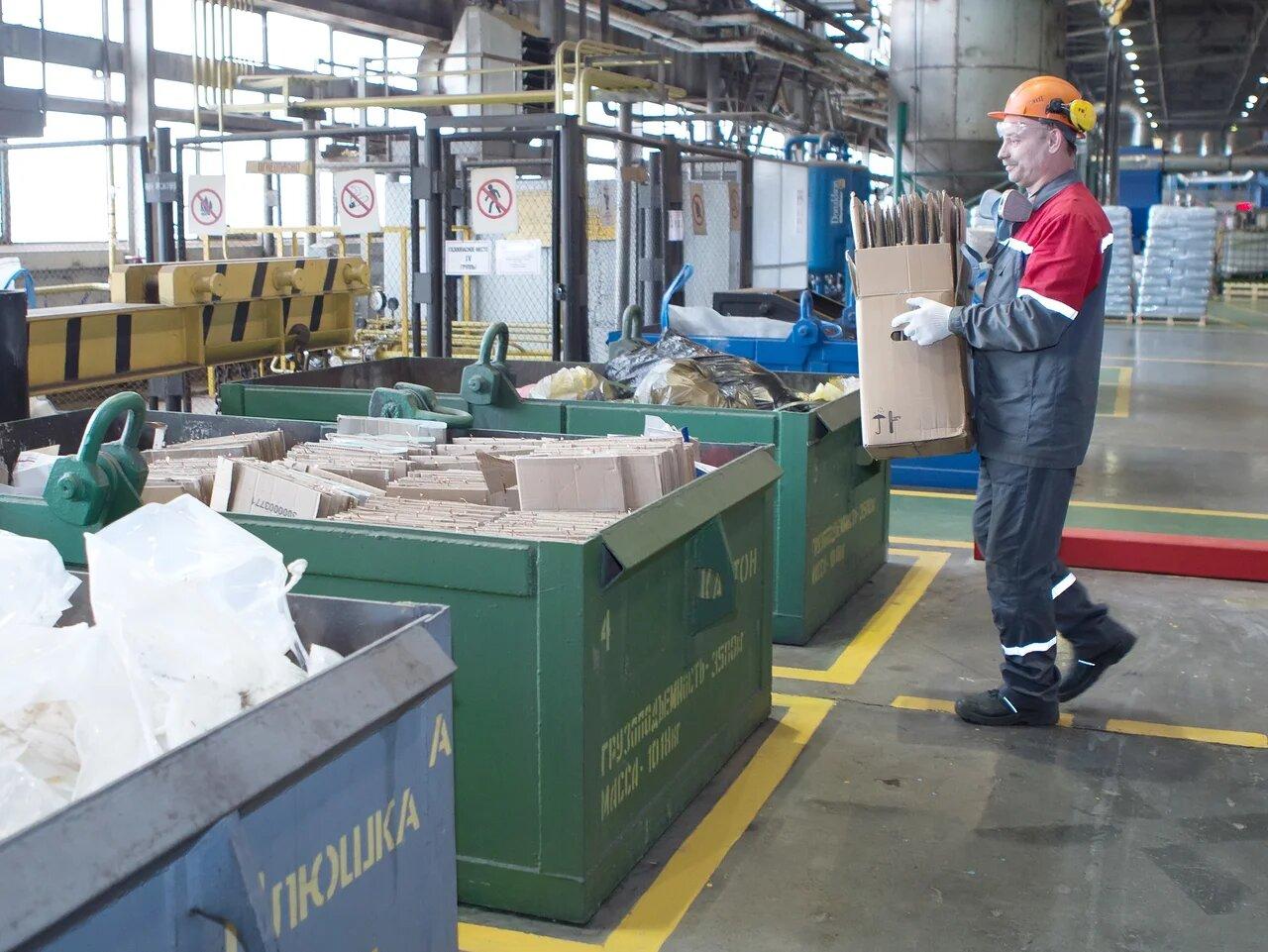 Выксунский завод ОМК за три года снизил объем образуемых на производстве отходов на треть