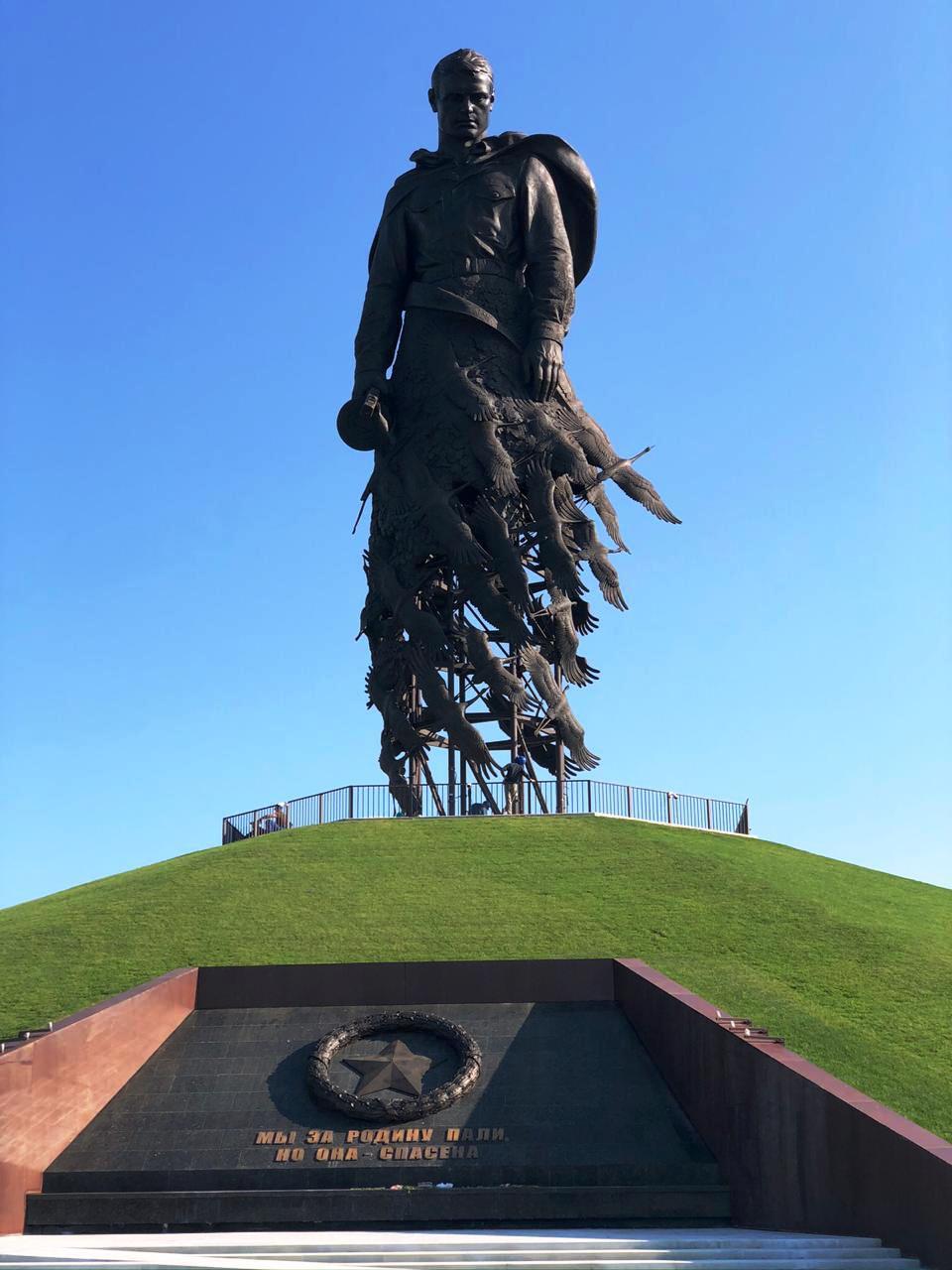 Белгородский завод ОМК изготовил трубный каркас для Ржевского мемориала Советскому солдату