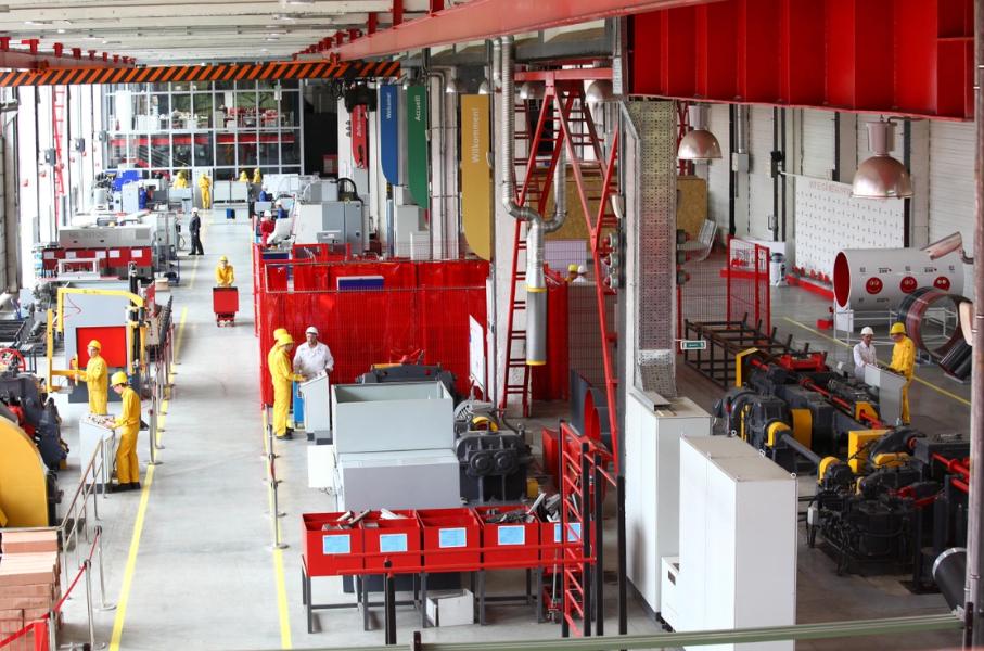 475 первокурсников программы «Будущее Белой металлургии» Группы ЧТПЗ приступили к учебе