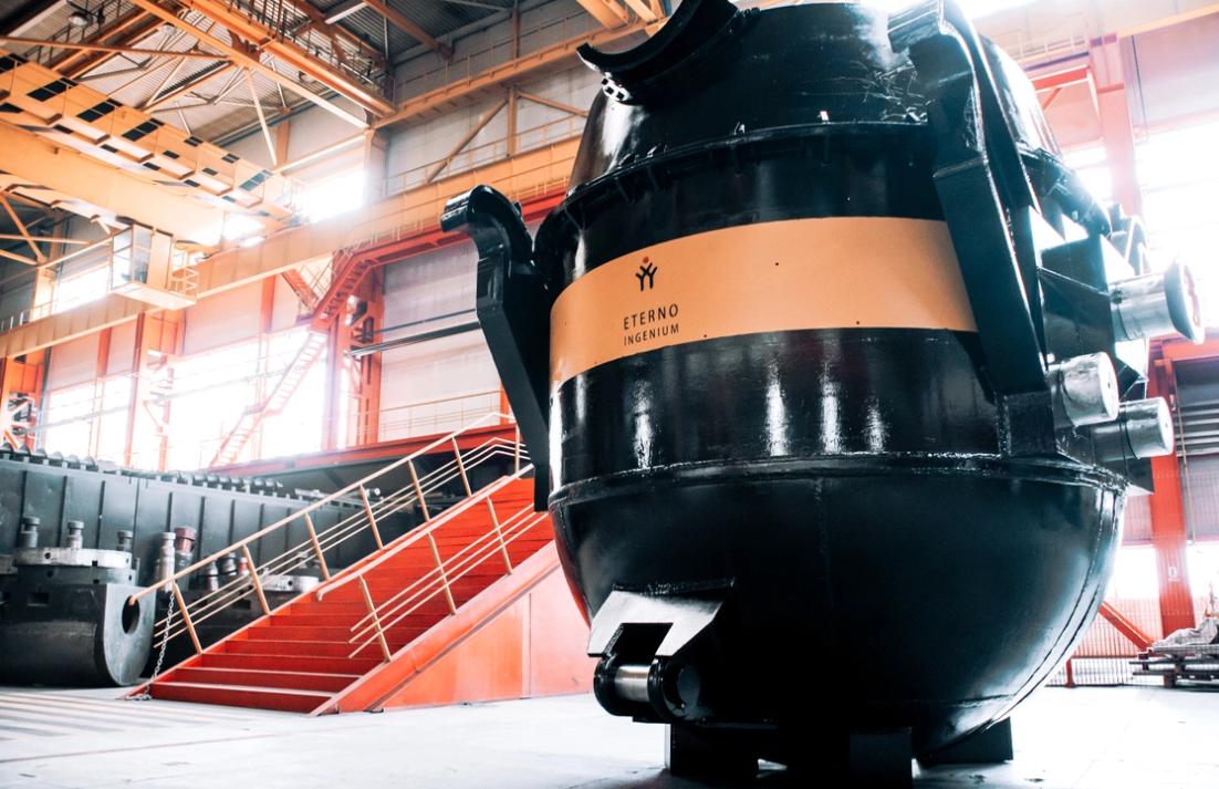 Группа ЧТПЗ поставила компании ЕВРАЗ высокотехнологичное оборудование ЭТЕРНО INGENIUM