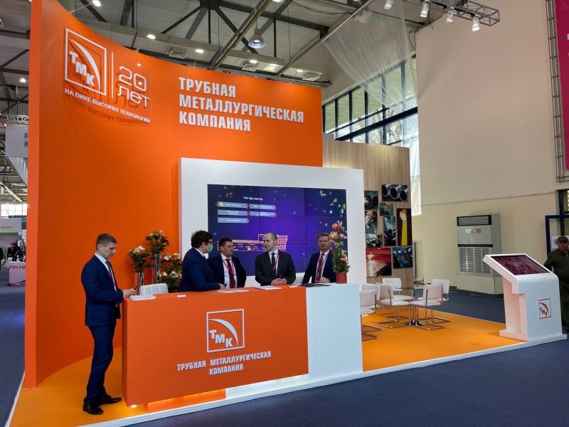 ТМК представляет трубную продукцию на выставке ИННОПРОМ в Узбекистане