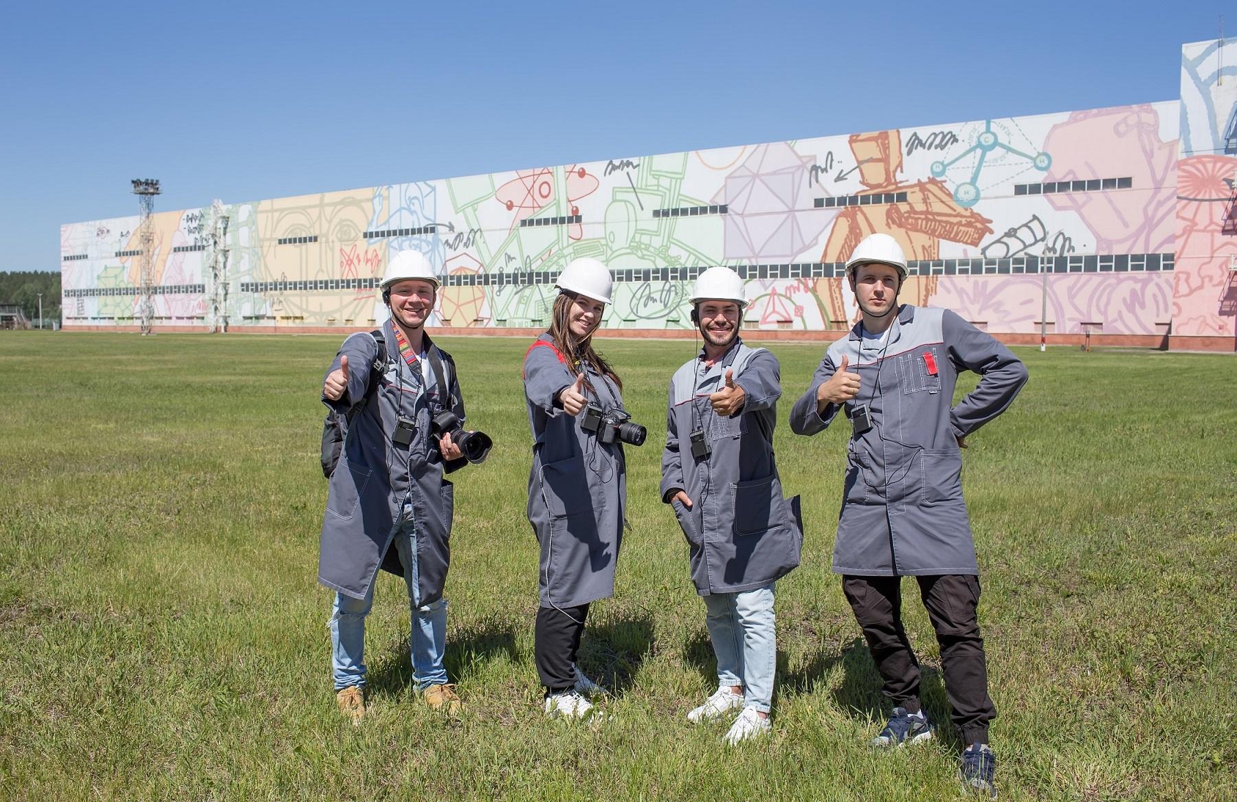 ОМК открыла уникальный туристический маршрут по индустриальному стрит-арт парку