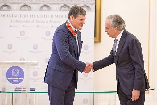 Анатолий Седых награжден государственной наградой Итальянской Республики