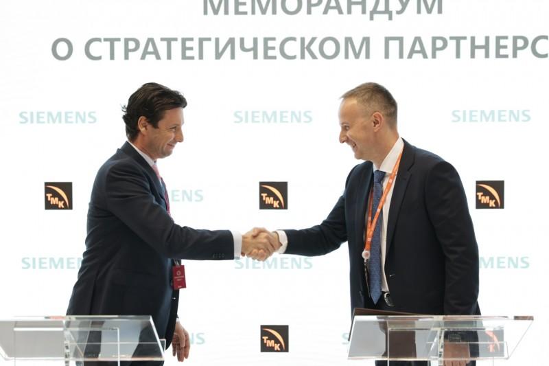 ТМК и «Сименс» будут совместно внедрять современные цифровые решения на производстве