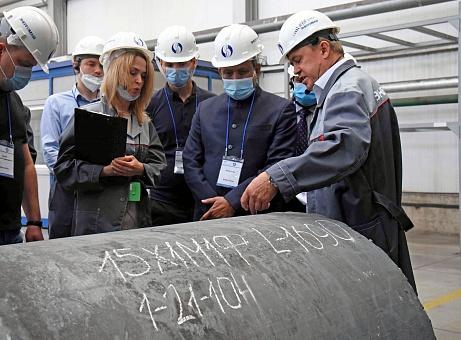 Руководители атомной отрасли Республики Бангладеш посетили белгородский завод ОМК