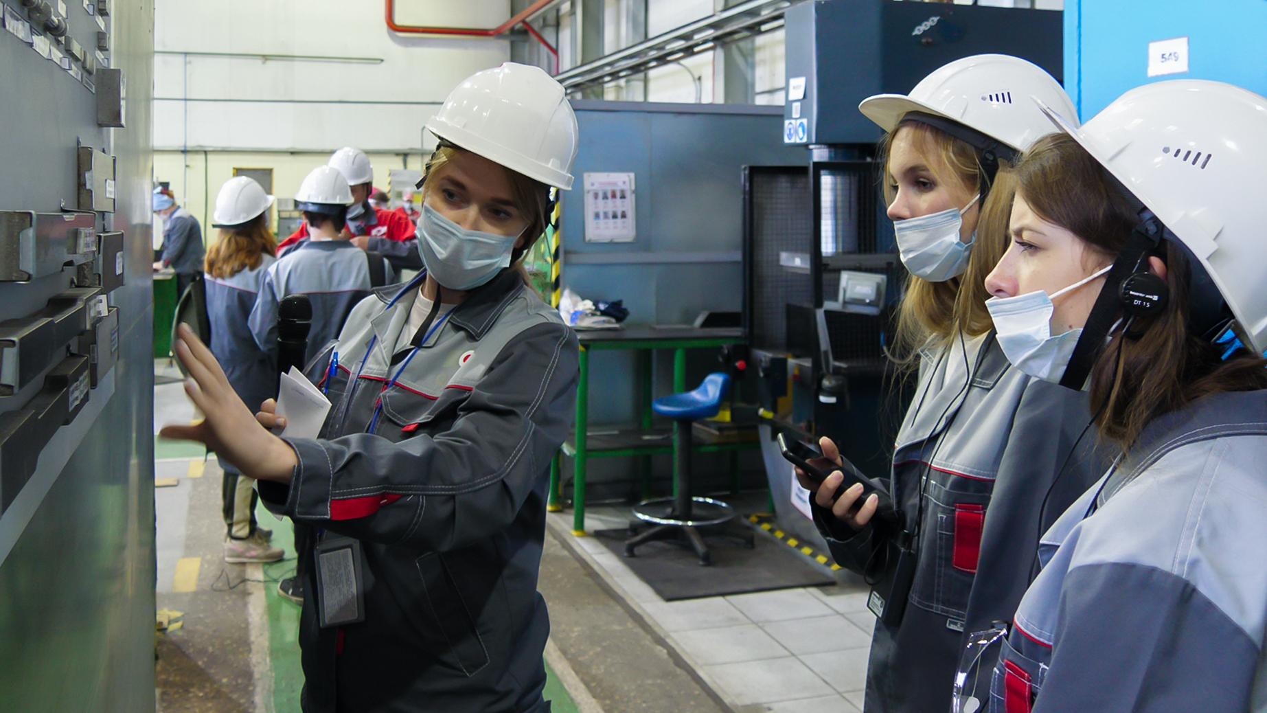 ОМК показала свои высокотехнологичные производства