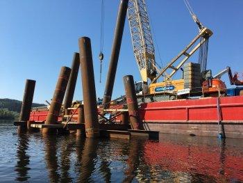 ОМК поставила в Норвегию партию труб большого диаметра для строительства 600-метрового моста