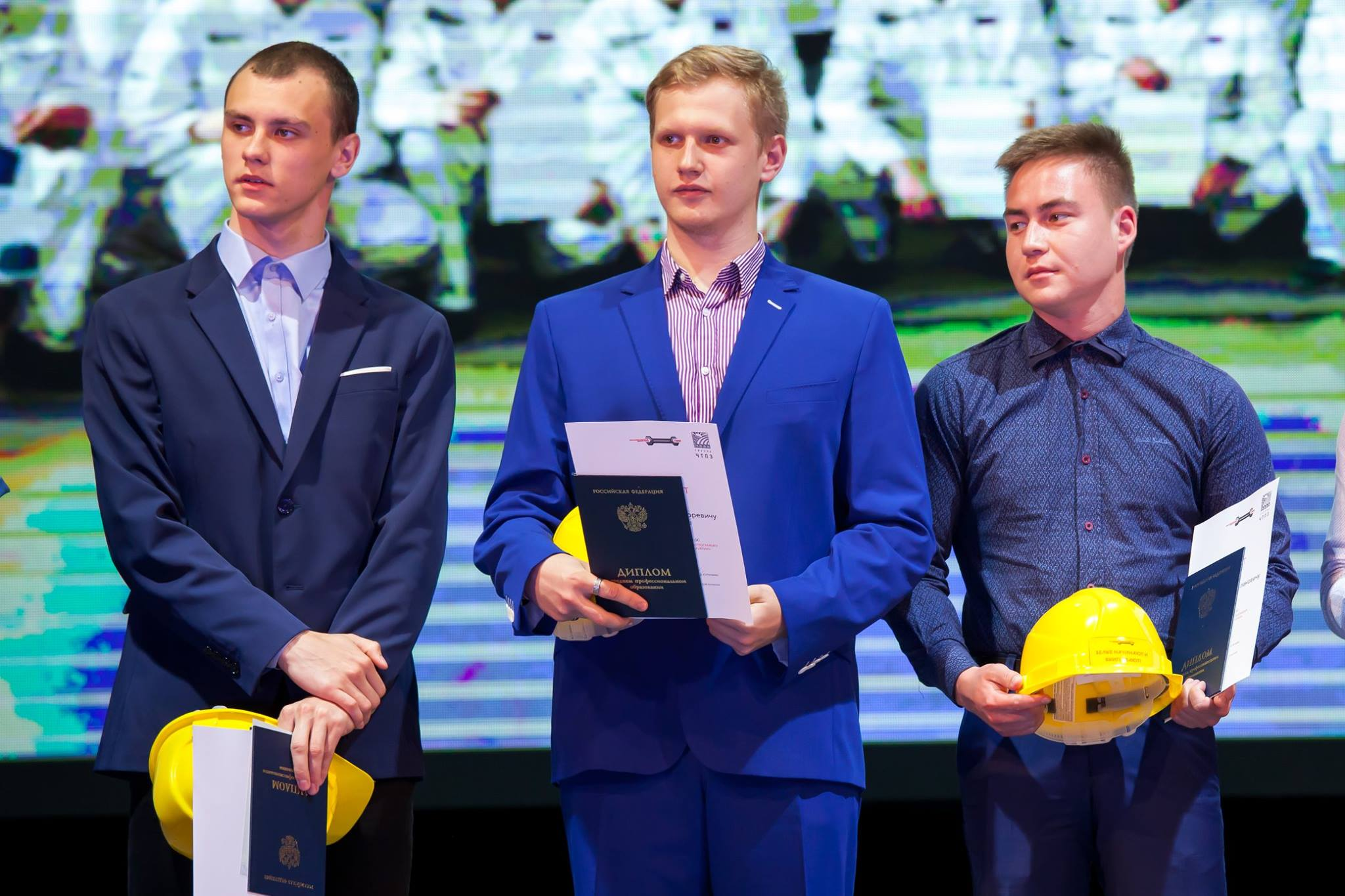 Выпускники программы «Будущее Белой металлургии» получили дипломы об окончании среднего профессионального об …