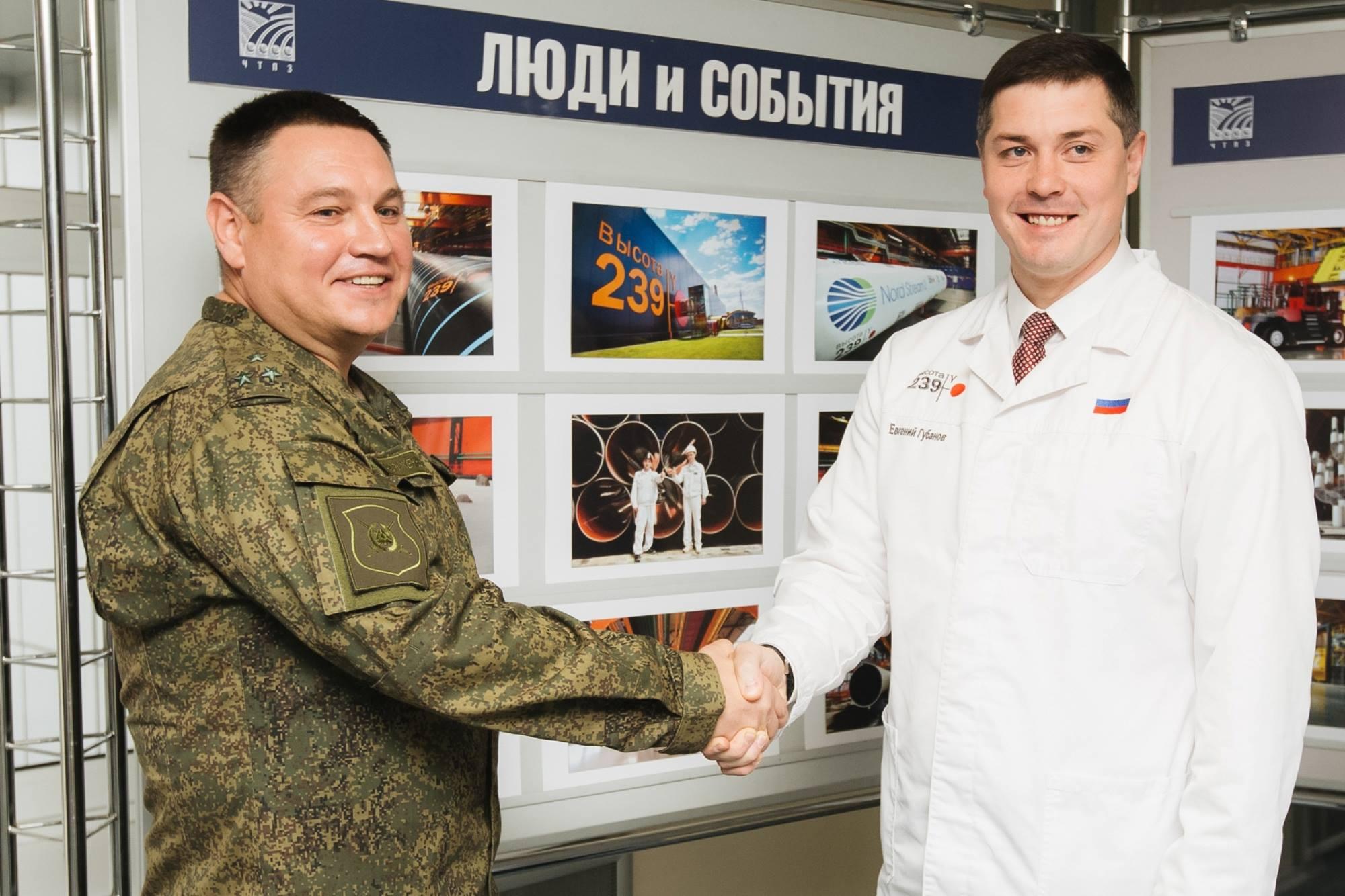 Группа ЧТПЗ тиражирует опыт взаимодействия с подшефной воинской частью в регионах присутствия