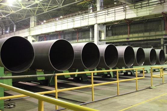 Складской комплекс ЧТПЗ поставил трубную продукцию для строительства четвертого моста через Обь в Новосибирске