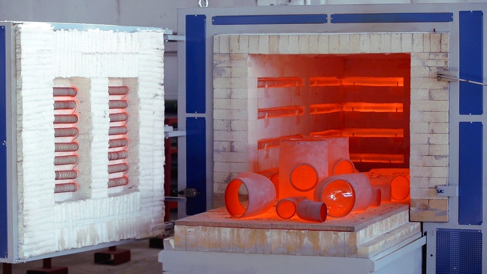 На заводе «Трубодеталь» открылась линия для нанесения силикатно-эмалевого покрытия