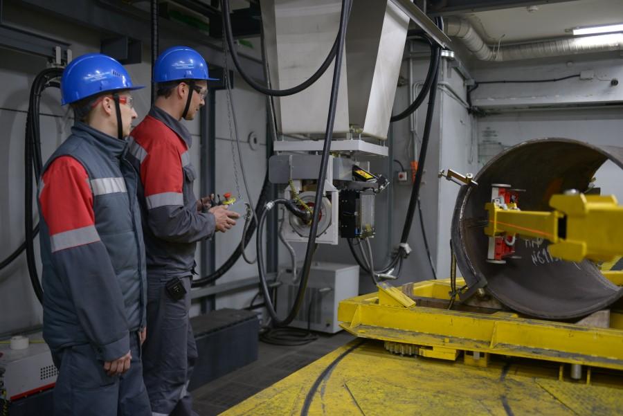 На заводе «Трубодеталь» модернизирован комплекс по выпуску штампосварных деталей для магистральных трубопроводов