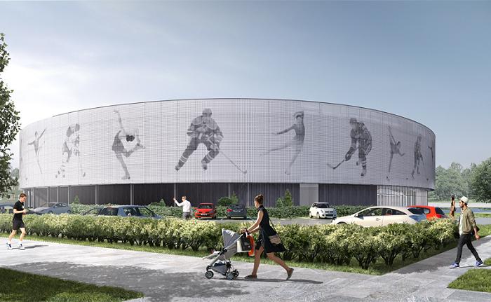 В Озерске стартовало возведение фундамента будущей Ледовой академии «Высота»