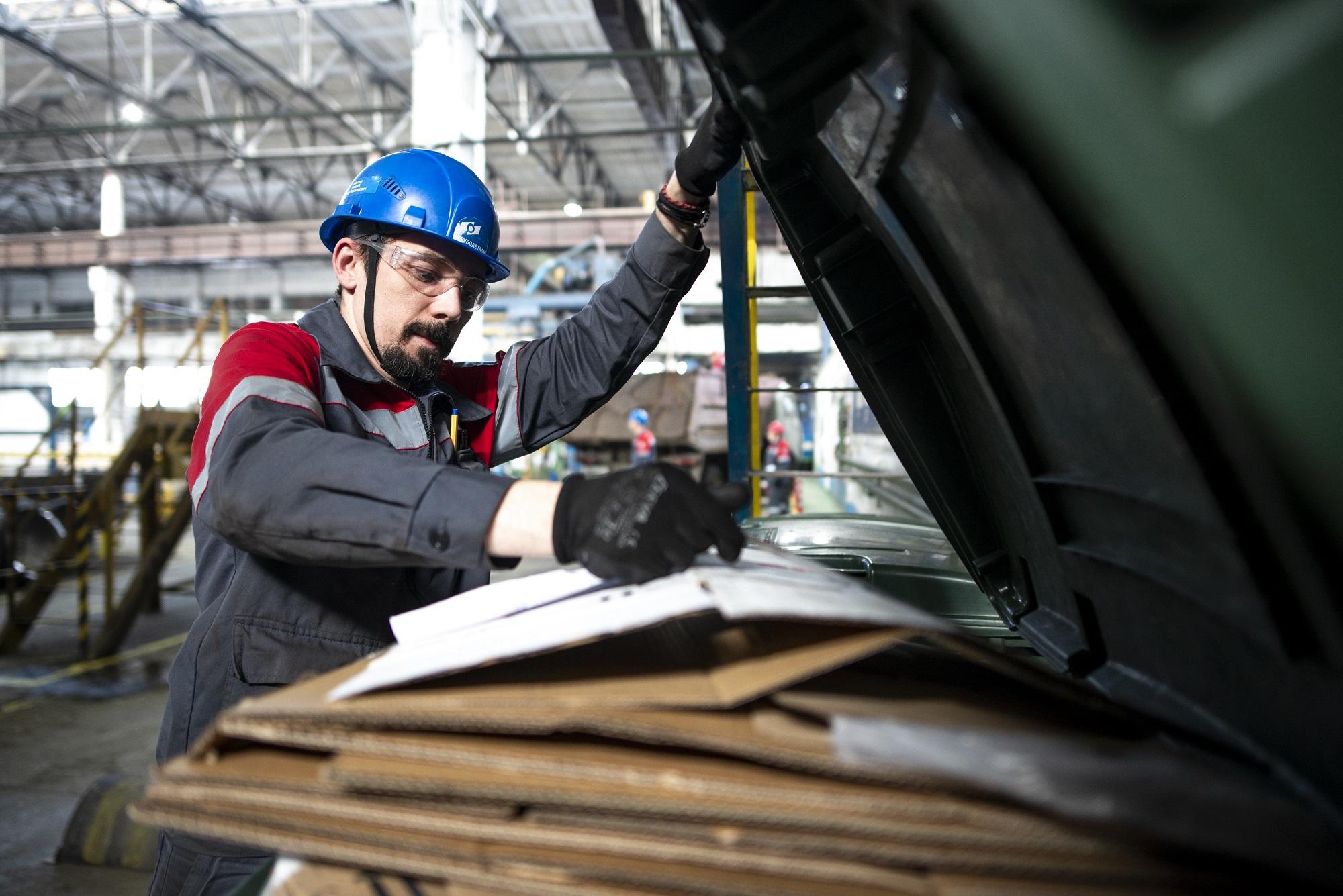 Завод «Трубодеталь» в 2019 году утилизировал 93% своих промышленных отходов