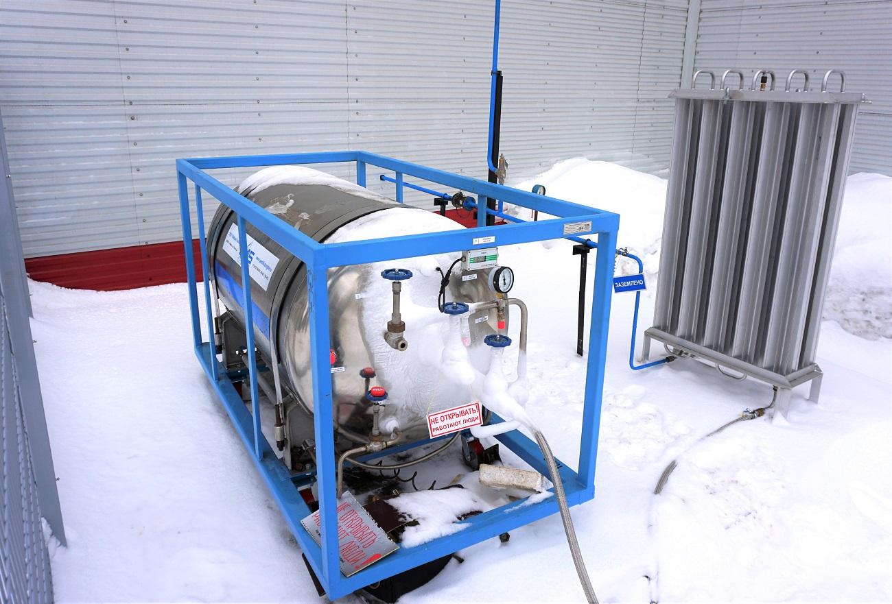 На ЧМЗ установили новое газовое оборудование