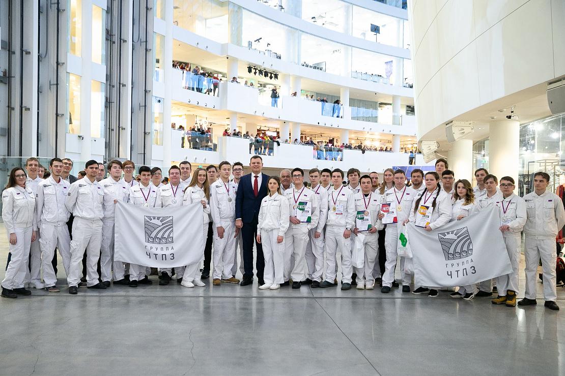 Группа ЧТПЗ завоевала рекордное количество медалей на региональном чемпионате по стандартам WorldSkills