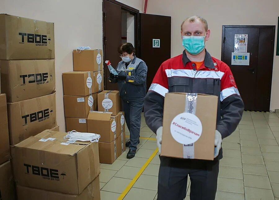 ОМК поставила в больницы Нижегородской области 55 ИВЛ и более 1 млн средств защиты