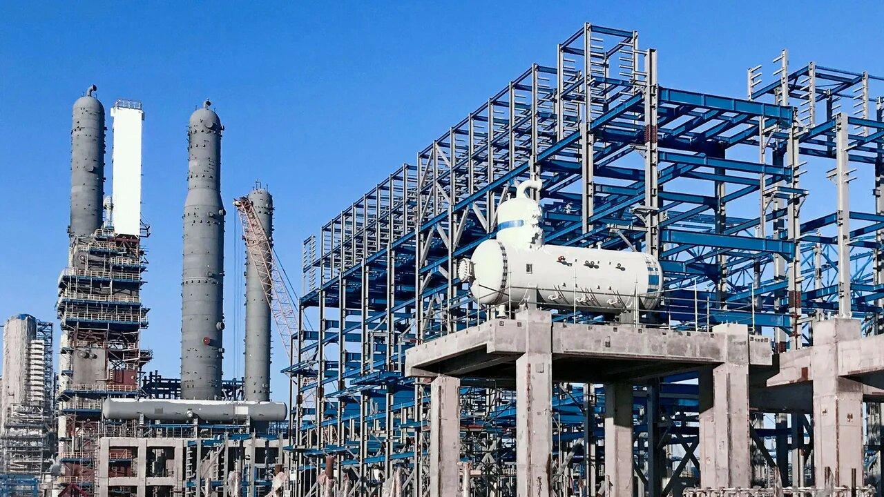 Белгородский завод ОМК поставил более 20 тыс. тонн металлоконструкций для Амурского газоперерабатывающего за …